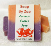Coconut Sunset Traditional & Handmade Cold Process Natural Soap With Coconut Oil & Shea Butter