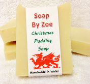 Christmas Pudding Traditional & Handmade Cold Process Natural Soap With Coconut Oil & Shea Butter