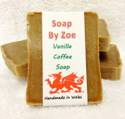 Vanilla Coffee Traditional & Handmade Cold Process Natural Soap With Coconut Oil & Shea Butter