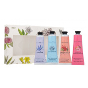 New Crabtree & Evelyn Lavender Hand Cream 4 x 25ml Gift Set For Her