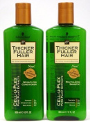 Thicker Fuller Hair Duo Set, Revitalising Shampoo & Weightless Conditioner, 350ml Bottles