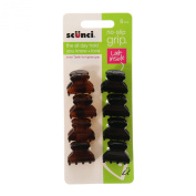 Claires Girls and Womens 8 Pack No Slip Grip Hair Claws