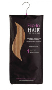"Flip-In Hair Extension 20""/50cm - 6/27 Golden Brown/Butterscotch"