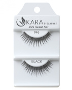 Kara Beauty Human Hair Eyelashes - 46 (Pack of 6) by Kara Beauty