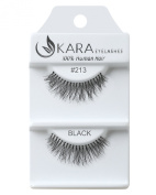 Kara Beauty Human Hair Eyelashes - 213 (Pack of 3) by Kara Beauty