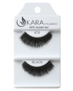 Kara Beauty Human Hair Eyelashes - 79 (Pack of 6) by Kara Beauty