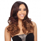 ROMANCE CURL LONG 5PCS (2 Dark Brown) - Shake N Go MilkyWay Que Fourbulous Human Hair MasterMix Weave Extension by Milky Way