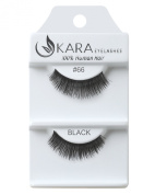 Kara Beauty Human Hair Eyelashes - 66 (Pack of 3) by Kara Beauty