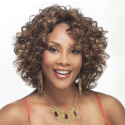 Vivica A. Fox CHILLI-V Synthetic Fibre, Deep Lace Front Wig in Colour P273033 by Vivica A. Fox