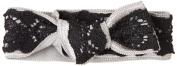 EMI Jay LAC62 Elastic Lace Black on Grey