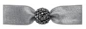 EMI Jay Elastic Dove Grey with Kristallperle Graphite