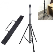 ZJchao Adjustable Manikin Mannequin Head Holder with Bag Hairdressing Training Tripod Stand