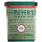 Mrs. Meyers Soy Candle - Iowa Pine - 140ml - Case of 6 - 0121871