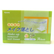 Kyowa Make-up Remover Wet Tissue with Olive Oil (Green)
