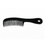 2655 Comb & #44; long handle & #44; black & #44; 17cm .
