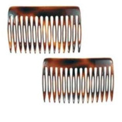CP50-2 7.6cm . Tortoise Shell Hair Combs 4 & #44; Pack of 4
