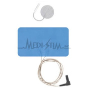 86908600 Empi Stimcare 10cm . X 18cm . Low Back & #44; White Foam & #44; Reusable Electrode With 80cm . Lead Wire 1 Per Pkg