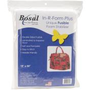 In-R-Form Plus Unique Fusible Foam Stabiliser-46cm x 150cm White 1/Pkg