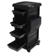 Lockable Trolley with Appliance Holders TR-12B