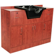 Large Salon Shampoo Cabinet and Bowl SU-81CP