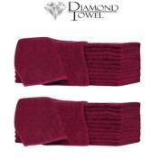 DIAMOND TOWEL Burgundy Bleach & Stain Resistant Towel 2 x TL-RSBB663BG