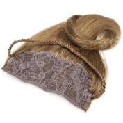 Brybelly #6 Chestnut Brown - 50cm Braided Tiara