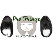 Brybelly #1b Off Black Pro Fringe Clip In Bangs