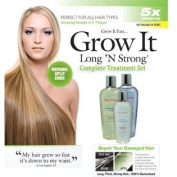 Want Longer Hair. Want Stronger Hair. Grow Hair Fast! Buy Long 'N Strong® - Complete Treatment Set (Lotion, shampoo and