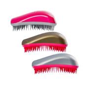 Dessata Original Pro Pack of 3 Fuchsia Hairbrushes