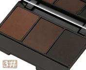MaxDona Compact Eye Brow Powder Palette - 3 Colour Eyebrow, Waterproof, Long Lasting Professional Makeup Set