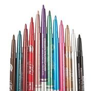 G2Plus 12 Colours Eyeliner Waterproof Lip Liner Eye Shadows Eyebrow Pencils Cosmetic Pen Colouring Set Makeup Kit