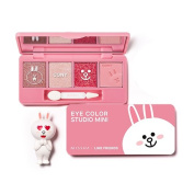[Missha X Line Friends] Eye Colour Studio Mini #01 Cony Pink