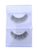 6 Pairs Creme 100% Human Hair Natural False Eyelash Extensions Black #747M by Cr.........................me