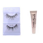 6 Pairs Creme 100% Human Hair Natural False Eyelash Extensions #WSP ,Free Gift by Cr.........................me
