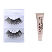 6 Pairs Creme 100% Human Hair Natural False Eyelash Extensions Black #112 Long Full Dark Lashes by Cr.........................me