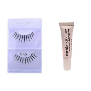 6 Pairs Creme 100% Human Hair Natural False Eyelash Extensions Black #607 Thin Natural Long Lashes by Cr.........................me