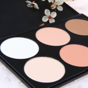 Professional 6 Colours Cosmetic Contour Concealer Face Pressed Powder Palette Make Up Box