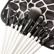 Tonsee 10pcs Stone Pattern Markings Cosmetic Makeup Professional Foundation Brushes Set Kit