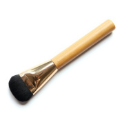TimeSong Cosmetic Facial Makeup Brush Bamboo Handle Foundation Brush