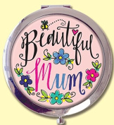 Rachel Ellen Compact Mirror - Beautiful Mum