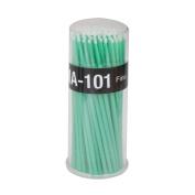 Approx.100Pcs Disposable Eyelash Extension Applicators Micro Brush Green