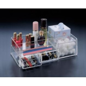 Makeup Organiser, 2 Drawers, Boutique Tissue Section and Cotton Ball Compartment.