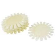 10 Pcs Round Shape DIY Faux Nail Fingernail Pure White for Lady Woman