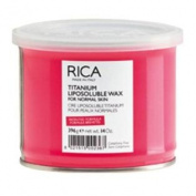 RICA Titanium Liposoluble Wax - Made in Italy - For Normal Skin
