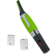 Xtech XHNT-100 Nose, Ear and Facial Hair Trimmer with Built-in Powerful Light & 2 Comb Attachments