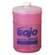 (Price/CS)GOJO INDUSTRIES 1845-04 GOJO Thick Pink Antiseptic Lotion Soap - Flat Top Gal