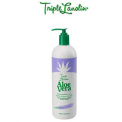 TRIPLE LANOLIN Aloe Vera with Lavender Hand & Body Lotion MA-50138