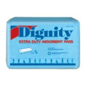 Dignity Extra Duty Double Pads - 30 Double Pads / Bag, 6 Bags / Case