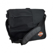 Black Licenced Harley-Davidson Messenger Bag