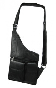 Black Sheep Leather Cross-Body Travel Bag